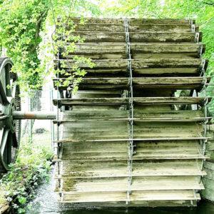 Wassermühlenrad